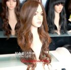 New Long Light Brown Big Waves Fashion Women's Cosplay Heat Resistant Wig Wigs