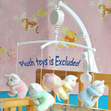 Rotary Baby Mobile Crib Bed Toy Clockwork Movement Music Box Kids Bedding Toy#V