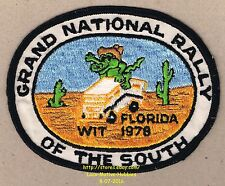 LMH Patch '78 WINNEBAGO TRAVELERS Club RV Motorhome WIT W.I.T. Grand Nat'l RALLY