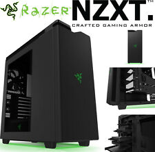 NZXT H440 Razer Edition Matte Black USB 3.0 Gaming Mid Tower Computer Case NEW