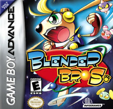 Blender Brothers GBA New Game Boy Advance