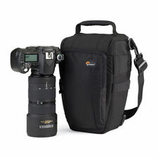 Lowepro Toploader Zoom 55 AW DSLR Camera Bag Holster Shoulder Case Rain Cover