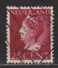 NVPH Netherlands Nederland 341 TOP CANCEL AMSTERDAM Wilhelmina 1940-1947