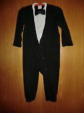 Festlicher Baby Strampler von H&M Größe 80 Schwarz/Weiß NEU