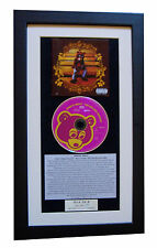 KANYE WEST College Dropout CLASSIC CD Album QUALITY FRAMED+EXPRESS GLOBAL SHIP