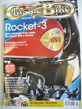 Classic Bike Magazine. August, 2000. BSA Racing Twins. Nortons at Mallory.