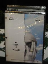 A Test of Wills (DVD) Mitch Dickman, William Hahn, Karen Slack, Heidi Hahn, NEW!