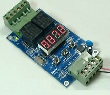 Dual programmable relay board / 2 voltage detection control / off cycle timer