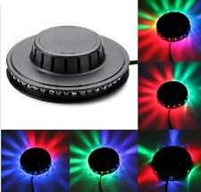 LED RGB Light Effect 8W Auto Sunflower Rotating Party Stage Club KTV Disco Lamp