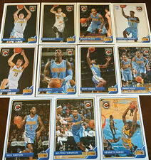 2015 2016 NUGGETS 30 Card Lot w/ PANINI COMPLETE TEAM SET (14) 2015-16 Players