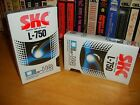 2 Brand New Shrink Wrapped Beta L750 Video Tapes for Betacord - Betamax Vcr's