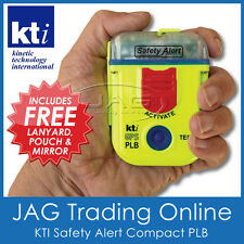 KTI PLB PERSONAL BEACON SAFETY ALERT SA2G GPS 406MHz EPIRB - Boat/Bushwalking