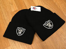 Vintage Retro Los Angeles LA Raiders Cuffed Beanie Toque Winter Cap Snapback NWA
