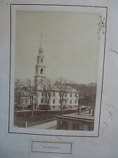 "First Baptist Church in America (Providence, R.I.) 5x7"" Photograph, circa 1910"