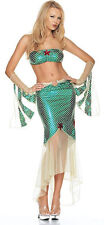 PRINCESS ARIEL LITTLE MERMAID GENUINE LEG AVENUE COSTUME UK 10-12 SEA FISH