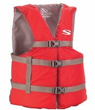 COLEMAN Stearns Adult Classic Series Universal Life Jacket Flotation Vest - Red