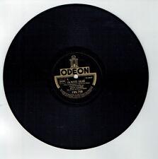 78T Jean LUMIERE Disque Phonographe LA PETITE EGLISE Chanté ODEON 166708 RARE