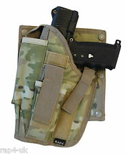 Paintball Cross Draw Pistol Holster (Left Hand - Big) ECD like Multi Cam [AK6]
