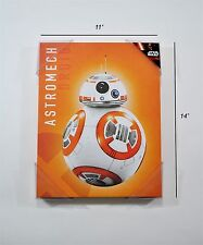 """Star Wars The Force Awakens BB-8 Astromech Droid Canvas Picture Wall Art 11""""x14"""""""