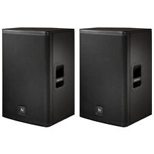 "EV ELECTRO VOICE ELX115 15"" Passive DJ PA Monitor Speakers PAIR"