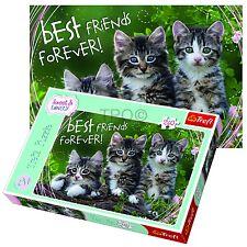 Trefl 260 Pezzi Bambini Unisex Gattino Best Friends Tenero Animale Puzzle nuovo