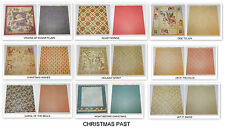 LOT SCRAPBOOKING GRAPHIC 45 DESIGNER PAPER 12 x 12 CHRISTMAS PAST ANGEL HOLIDAY