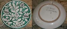 Antico piatto decorativo ceramica S. STEFANO CAMASTRA anni '60 x piattaia cucina