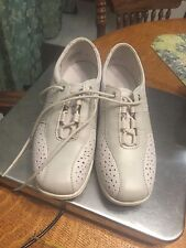 WOMEN'S ROHDE MADE IN GERMANY LEATHER LACE UP SHOES SZ US 6