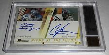 2003 Bowman Signs of the Future Dual Autograph Doubles ANDRE JOHNSON BGS 9 MINT