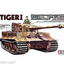 Tamiya 1/35 35146 German Tiger I Tank Late Version Model Kit