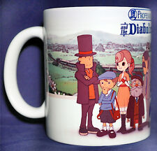 Professor Layton and the Diabolical Box - Coffee MUG - 3DS - Puzzle