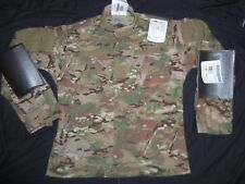 MULTICAM COAT MEDIUM-REGULAR USA MILITARY ISSUE IR-FR-ACU CAMO SHIRT Button Cuff