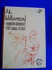 Al Williamson complete checklist, & five comic strips: US fanzine 1974.