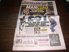 Gazzetta dello sport 8/8/2016 GAROZZO BASILE CAGNOTTO DALLAPÈ GIUFFRIDA BORGHINI