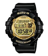 Casio Baby-G * BGD141-1 Mirror LCD Gold with Black for Women COD PayPal MOM17