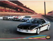 Camaro 1993 Indianapolis 500 Pacecar GM Dealer Poster Pace Car Z28 Z/28 SS 396