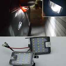 2x High Bright LED SMD Side Mirror Puddle Lights For Ford C-Max 2011-2017