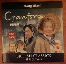 DVD - BRITISH CLASSIC - CRANFORD - DISC 1 only - NEWSPAPER PROMOTION