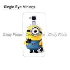 For Huawei Honor 7 Lite Honor 5C GT3 GR5 Mini Hard PC Cartoon Cover Case Minions