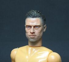 CUSTOM HEAD BRAD PITT FURY Esc1/10(175mmBody)  FOR MADELMAN / MEGO