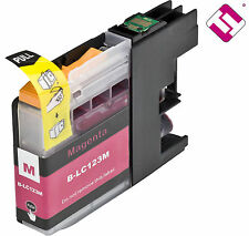 INK LC123M V2 MAGENTA COMPATIBLE MFC J470DW BROTHER CARTRIDGE DOESN'T ORIGINAL