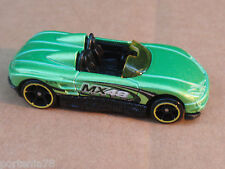 2011 Hot Wheels MX48 TURBO from 10 Pack LOOSE Green