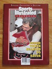 Sports Illustrated Presents CHICAGO BULLS 1993 3 Seasons No Label MICHAEL JORDAN