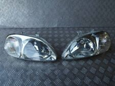 JDM  Front Headlights Lights OEM for 96-97 Honda Civic EK EK3 EK4 EK9 Zenki