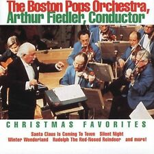 CD Christmas Favorites - Arthur Fiedler and the Boston Pops Orchestra
