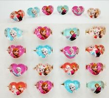 New 10pcs Frozen Ana/Elsa Resin Rings Children Girls Party bag fillers Xmas Gift