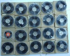 "LOT 20 PCS  BLANK 1/4"" AUDIO TAPE REEL TO REEL  5.5"""