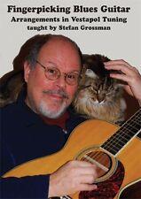 Stefan Grossman Fingerpicking Blues Guitar Vestapol Tuning Learn Music DVD