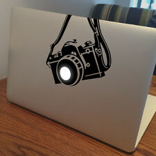 "CAMERA Apple MacBook Decal Sticker fits 11"" 13"" 15"" and 17"" models"