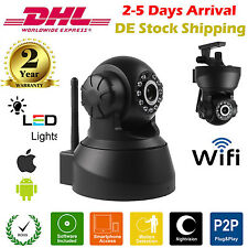 IP Kamera HD 720P CCTV Onvif WLAN Wireless Wifi Netzwerk Webcam IR Camera Video
